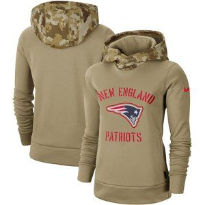 Women's New England Patriots Pullover Hoodie